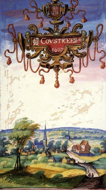 Illustration de Coutiches datant de 1607